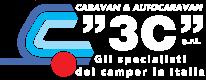 logo-3C-camper-usati-reggio-emilia-bianco